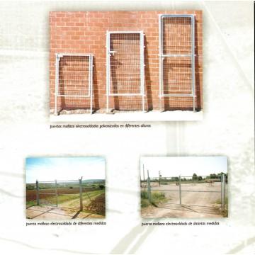 Puertas galvanizadas medidas especiales puertas for Puertas galvanizadas medidas