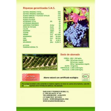 abono granulado organico ecologico fertilizante