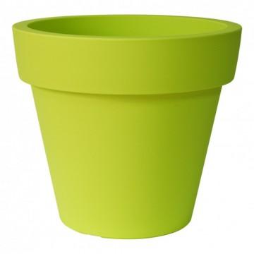 Maceta ikon de 80x71 cm color verde acido macetas y - Macetas de exterior baratas ...