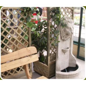 fotos de macetas y fuentes de agua para jardines en españa - 24296