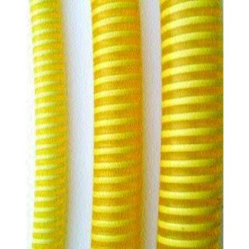 Tubo pvc flexible con espiral de pvc r gido amarillo for Tubo de pvc flexible