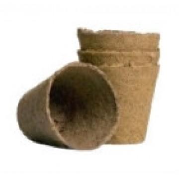 maceta biodegradable. germinacion efectiva. 16 unidades 8x8