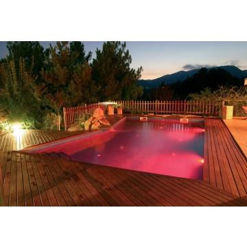 Iluminaci n y decoraci n de piscinas servicios de for Iluminacion de piscinas