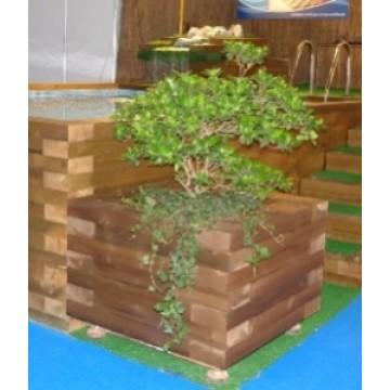 Jardineras de madera macetas y jardineras 20995 for Jardinera de madera vertical
