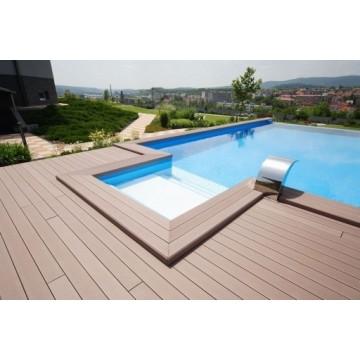 Tarima exterior sintetica deckplanet pavimentos y suelos for Tarima exterior sintetica