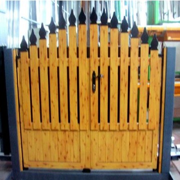 Vallas puertas ventanas para fincas chalet s vallas alambradas y mallas 23472 agroterra - Puertas de chalet ...
