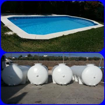 Piscinas de 6x3 9x4 desde piscinas for Piscina 9x4