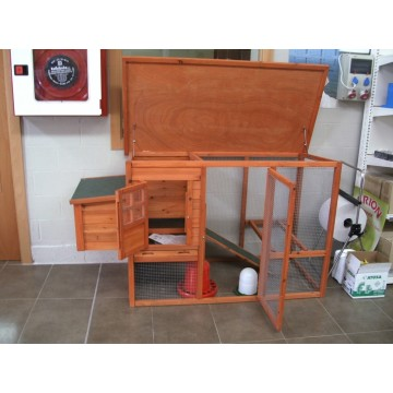 Gallinero prefabricado de madera lyon praga gallineros - Prefabricados de madera ...