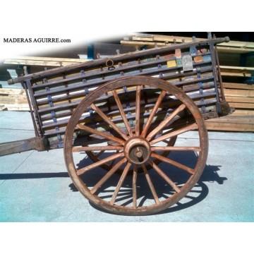 Ruedas de carro antiguo decoraci n 3018361 agroterra - Maderas aguirre ...