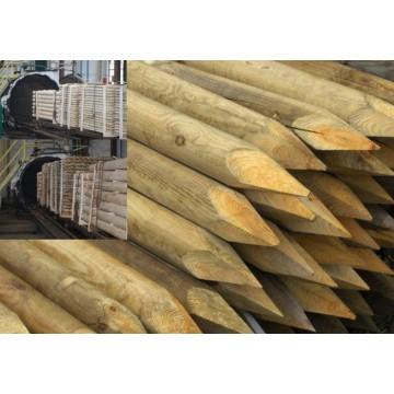 Maderapol tutor 4x150cm para olivo tratado en autoclave - Autoclave para madera ...