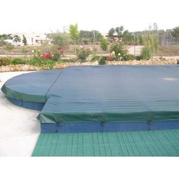 Cubiertas para piscinas estanques y balsas de riego for Cubierta estanque