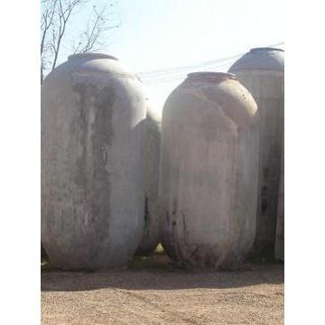 Tinajas de barro y cemento decoraci n 4401 agroterra for Tinajas de barro para jardin