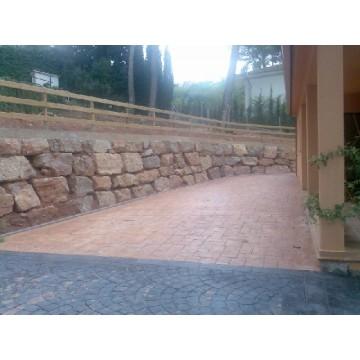 Muros de piedra natural maquinaria para la construcci n - Muros de piedra natural ...