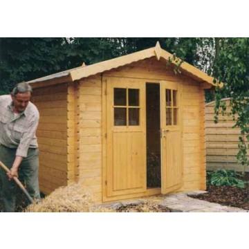 Casas casetas de madera para jard n desde 700 casetas for Casetas de madera para jardin baratas