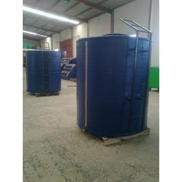 Deposito de 3000 litros agua vino aceite etc apto for Depositos de agua 1000 litros
