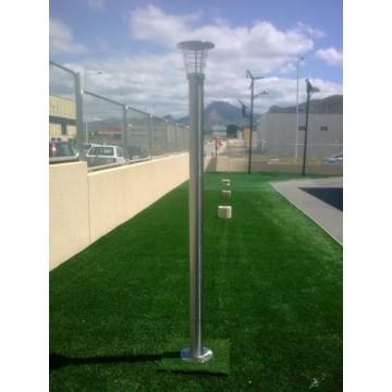 Farola solar de jardin iluminaci n para exteriores - Iluminacion jardin solar ...
