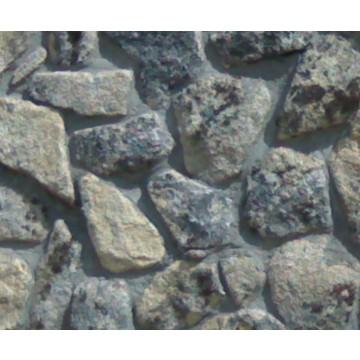 piedra de musgo resuelo arena y piedras decorativas