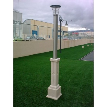 Farola solar de jardin iluminaci n para exteriores - Iluminacion solar de jardin ...