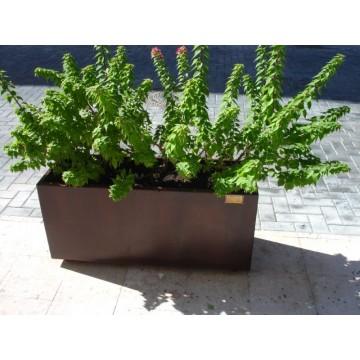 Jardineras de acero corten fabricadas en espa a casas for Jardineras acero corten