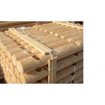 Postes de madera tratada productos para jard n vallas for Articulos para jardin