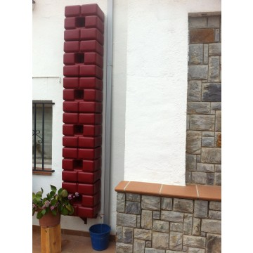 Dep sito decorativo para recogida de agua de lluvia 1 - Depositos agua lluvia ...