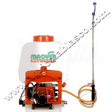 Mochila fumigar 25 litros maqver con motor 2 tiempos bomba - Mochila para fumigar ...