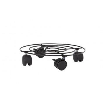Plato con ruedas isola 30x7 cm macetas y jardineras - Jardineras con ruedas ...