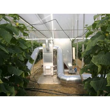 estufas industriales por biomasa para invernaderos y