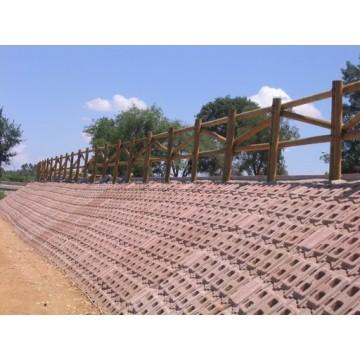 Instalaciones de vallados de madera para proteccion de - Vallados de madera ...