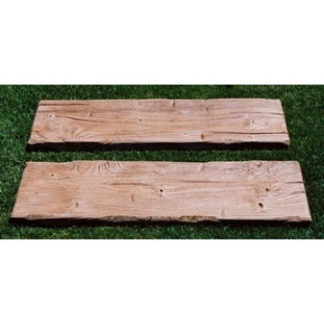 Traviesas de hormigon imitacion madera pavimentos y - Hormigon imitacion madera ...