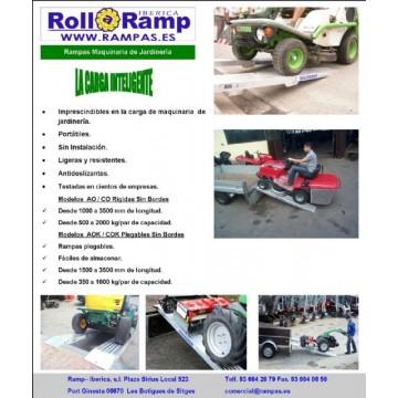 Rampas de aluminio para jardiner a remolques camiones y for Catalogue de jardinerie