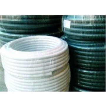 Tubo pvc flexible con espiral de pvc r gido tuber as pvc for Tubo de pvc flexible