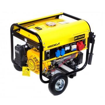 Generador electrico de gasolina 3500w greencut 196cc 6 - Generadores de gasolina ...
