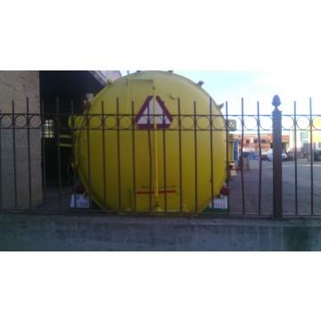 Cisterna de agua o purin 10000 litros mataderos for Valor estanque de agua 10000 litros
