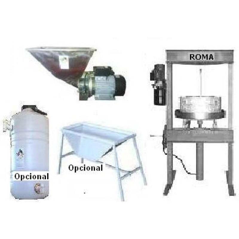 Maquinaria para hacer aceite de oliva