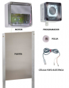 Kit Puerta Automática para Gallinero 33x22 Cm