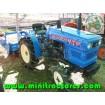 Foto de Mini Tractor Hinomoto E14d, 4x4, con Rotabator