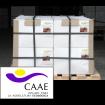 Foto de Palet al 50% de Bioestimulante Ecológico Trama y Azahar B-2 y Fe-2, Abono CE. Certificado CAAE. 16 Cajas de 12 Botellas X 1 Kg