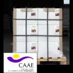 Foto de Palet al 50% de Bioestimulante Ecológico Trama y Azahar B-2 y Fe-2, Abono CE. Certificado CAAE. 24 Cajas de 12 Botellas X 1 Kg