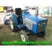Foto de Mini Tractor Iseki Tu1500, 15 Cv, 4x4 con Rotabator