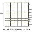 Foto de Malla Eléctrica Cabras 1.05 X 50 M