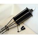 Antorcha en Acero, Color Negro 150 Cm.