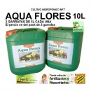 AQUA Flores A&B de Canna , 5L + 5L Fertiliza...