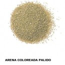 ARENA Silice Coloreada Palido 25 Kg