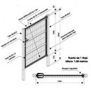 Puertas galvanizadas medidas especiales puertas for Puertas galvanizadas