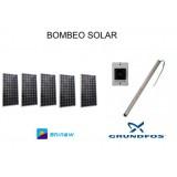 Sistema de Bombeo Solar de Agua Directo 10M3- 60Mca