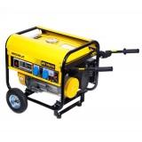 Generador Eléctrico de Gasolina 3.500 W Trifásica Arranque Manual