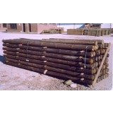 Postes de Madera para Uso Agrícola y Forestal. 2 M / 6-8 Cm Grosor