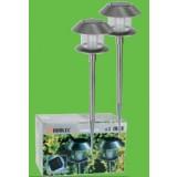 Lampara Solar Exterior Duolec Inox