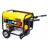 Generador Electrico de Gasolina 3500W. Greencut 196Cc 6,5Cv Arranque Eléctrico